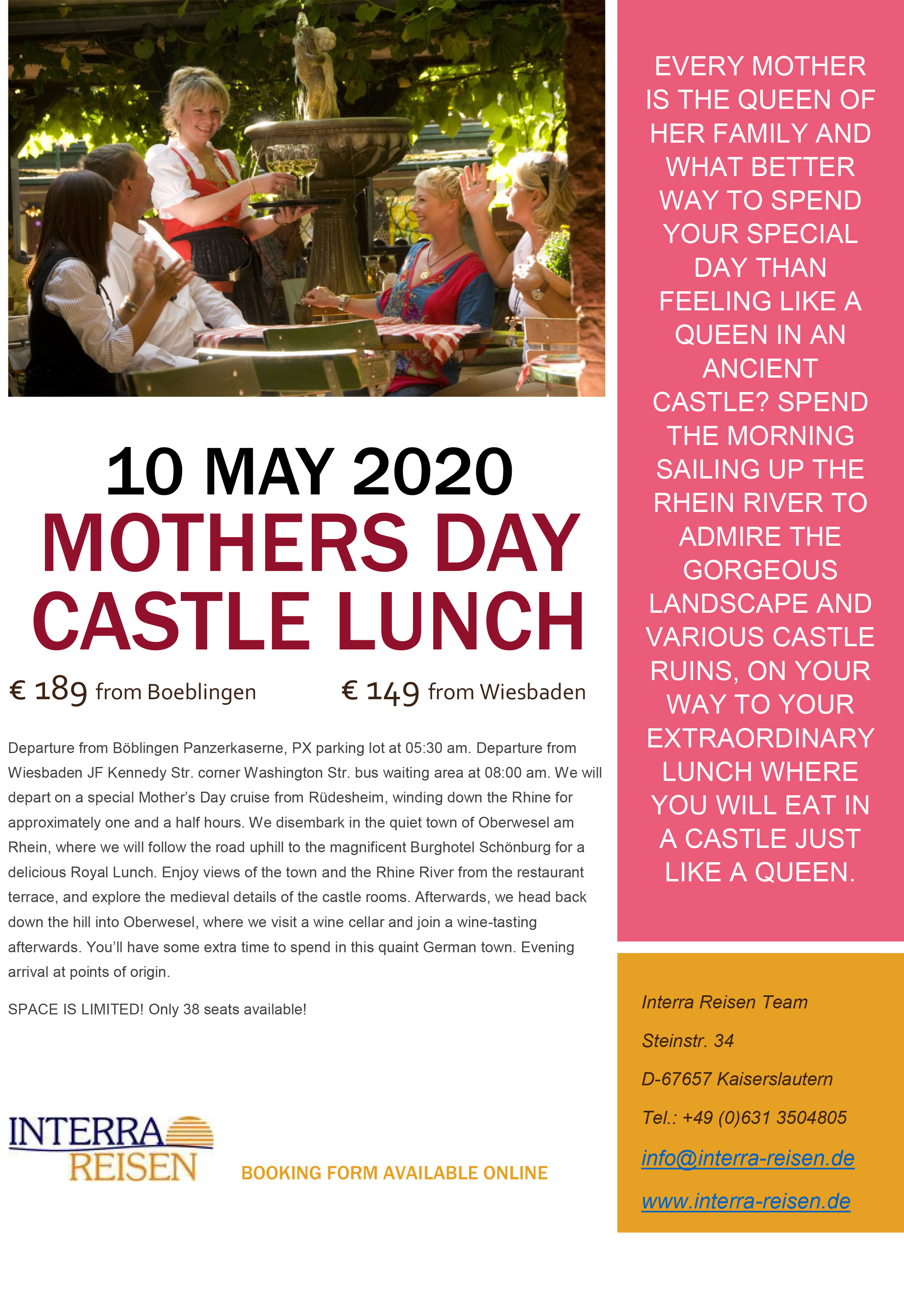 Mothers Day Castle Lunch 20 WEB