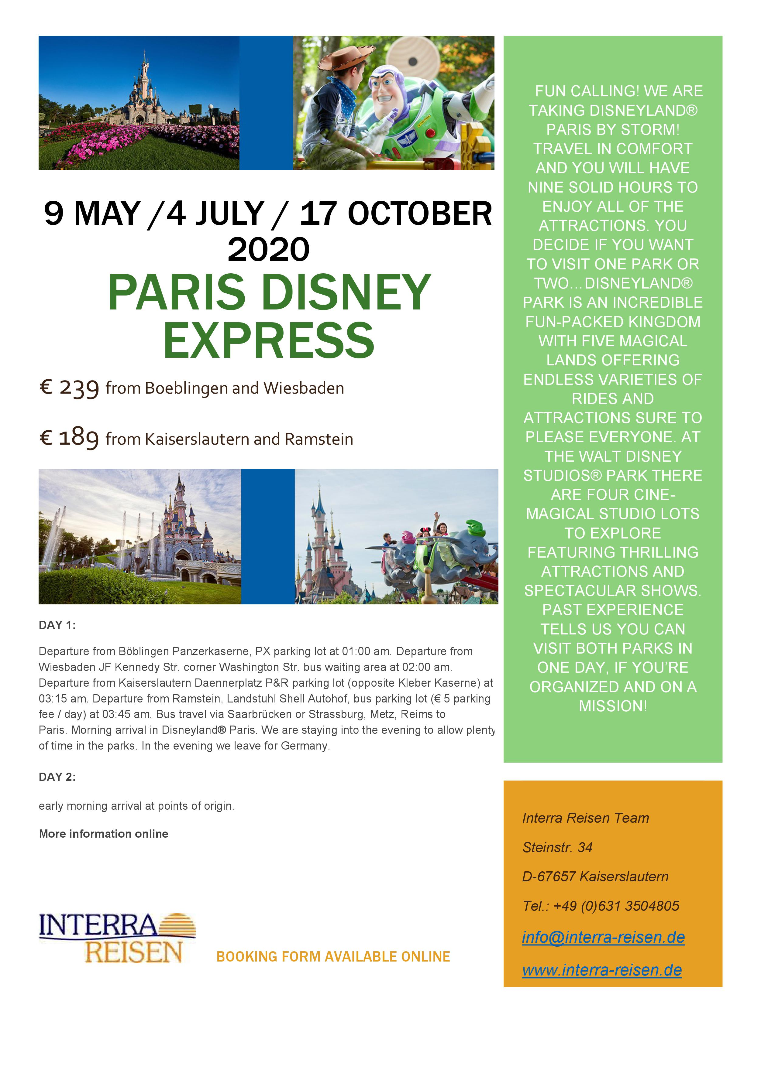 Paris Disney Ex