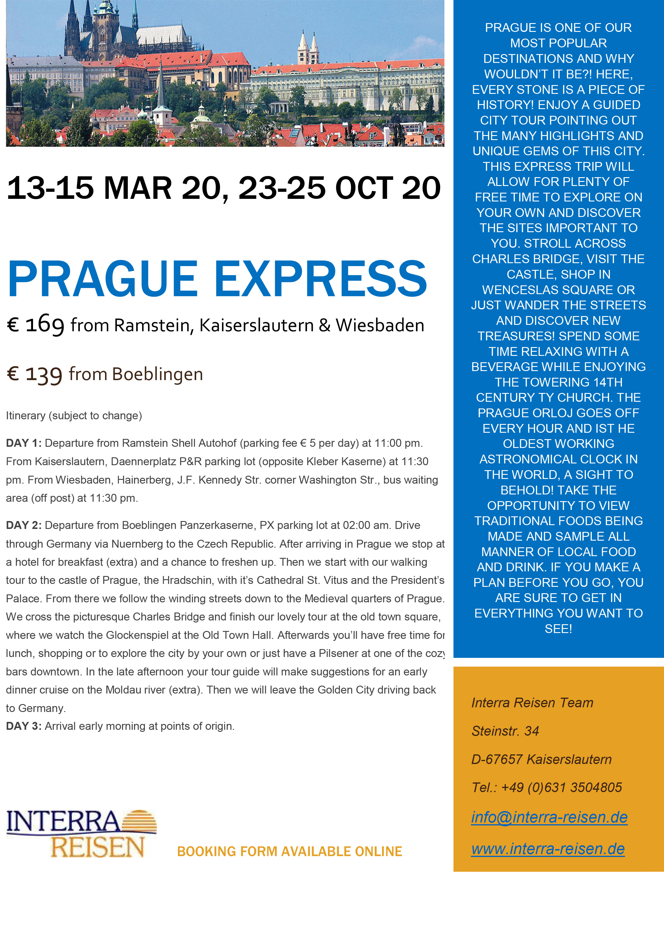 Prague Express 20 WEB